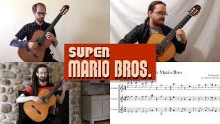 Super Mario Bros: Ground Theme (Ottawa Guitar Trio)