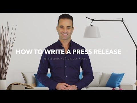 How to Write a Press Release + Press Release Template