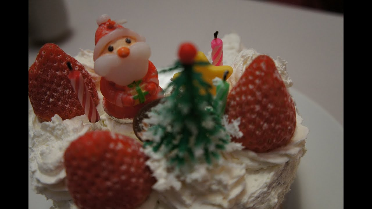 How to make christmas cake - How To Make A Japanese Christmas Cake