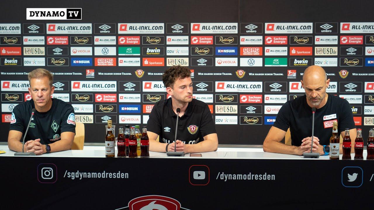 Download 8. Spieltag | SGD - SVW | Pressekonferenz nach dem Spiel