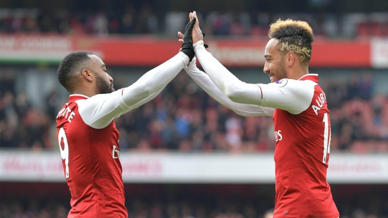 Download Arsenal FC:Aubameyang & Lacazette are begging to play with each other!!