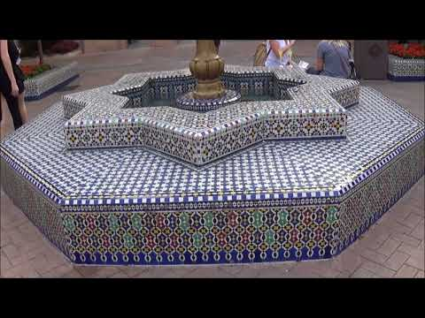 Morocco Pavilion Walkthrough Walt Disney World Epcot