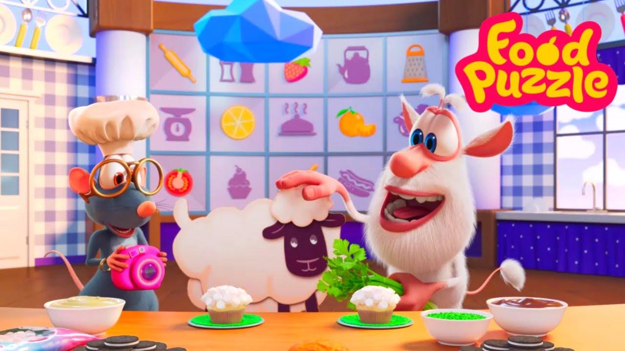 Буба - Шеф повар! 🐑  Зефирные овечки 🐑  Kedoo мультики для детей