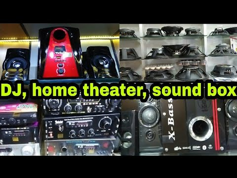 wholesale market of music system, D.J, Home theater , mike, speaker & spare parts