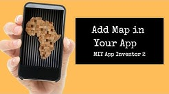 How to use Map and mark location in MIT App Inventor 2