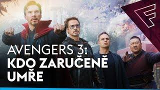 Avengers: Infinity War: Předpovídáme, které postavy umřou