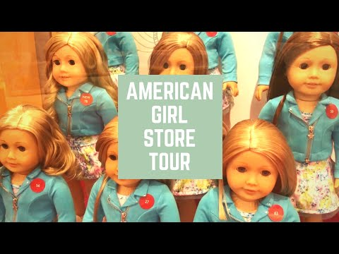 American Girl Doll Store Tour