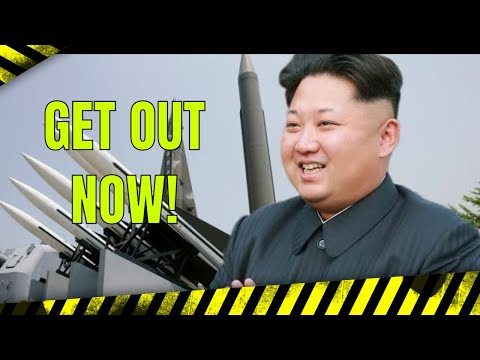 IMMEDIATE EVACUATION of Pyongyang' as tensions escalate