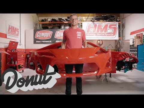 The Gumout JDM Supercar 4586 Fresh Paint Job w/ Ryan Tuerck | Donut Media