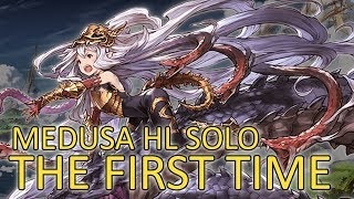 【Granblue Fantasy】Medusa HL Solo For The First Time
