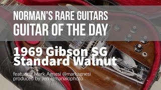 Norman's Rare Guitars - Guitar of the Day: 1969 Gibson SG Standard in Walnut