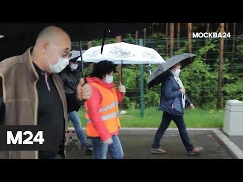 """""""Спорная территория"""": """"дорога к метро"""" - Москва 24"""