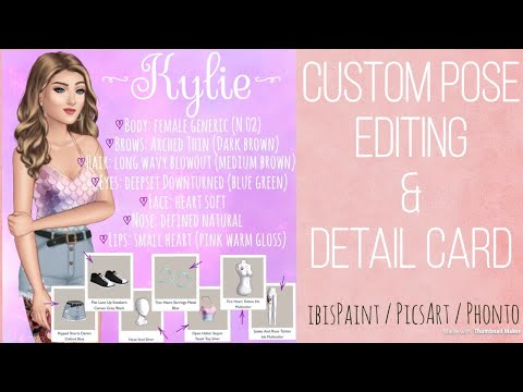 Episode Interactive Detail Card w/ Outfit Speed Edit & Tutorial - Edit 8 / ibisPaint / PicsArt