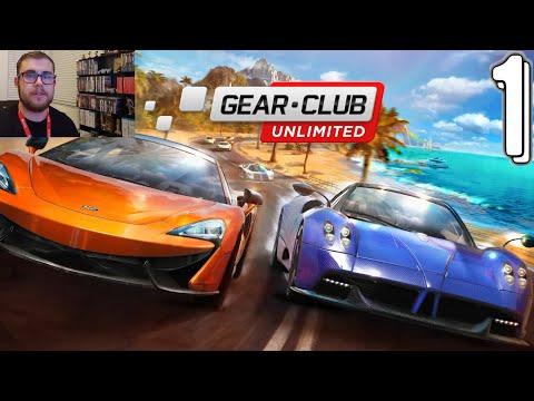 Gear.Club Unlimited (Nintendo Switch) - PART 1 - The Garden of Eden...Games.