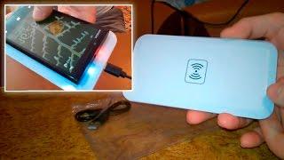 Беспроводное зарядное устройство для телефона - обзор зарядки для мобильников Samsung, Iphone, Nokia