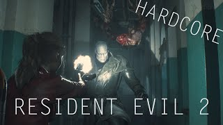 RESIDENT EVIL 2 - CLAIRE || HARDCORE #6