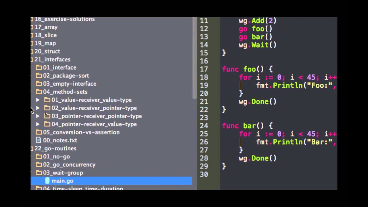 Learn To Code - Golang Training - YouTube