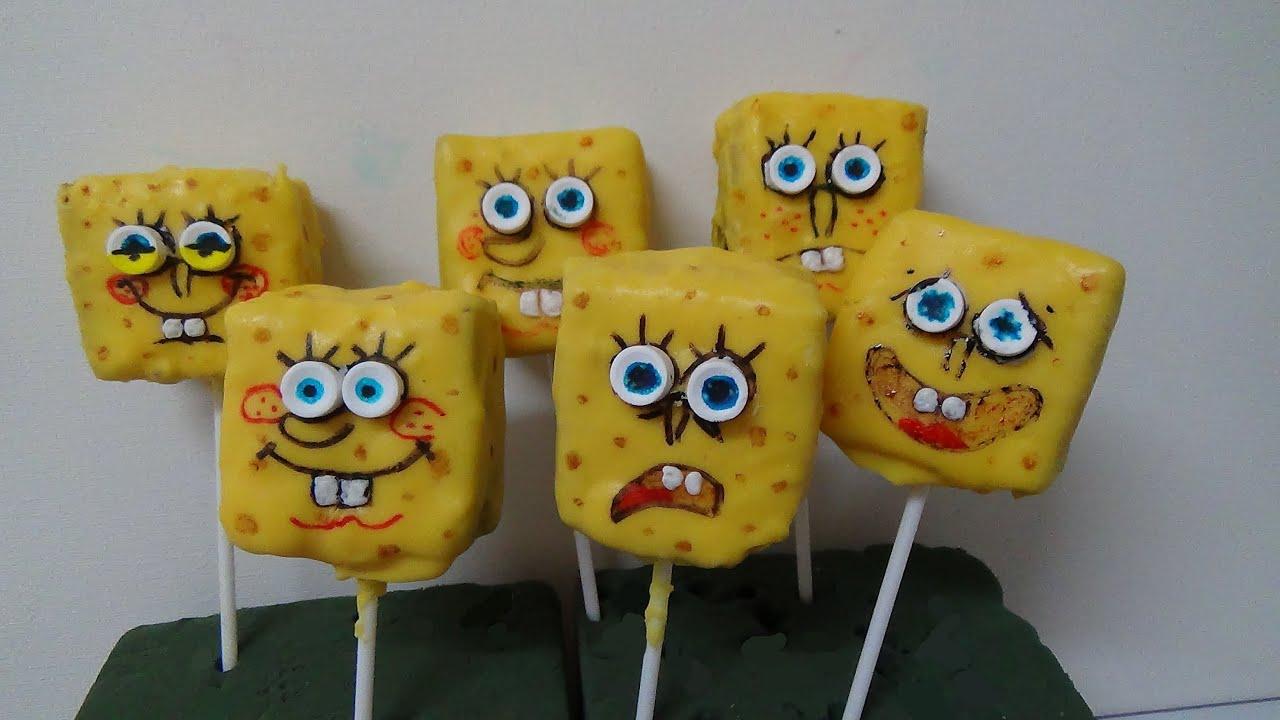 How To Make Spongebob Cake Pops