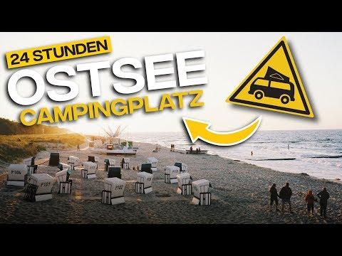 Abenteuer Ostsee Campingplatz - 24h Luxuscampingplatz Mit Dem VW BUS In Kühlungsborn