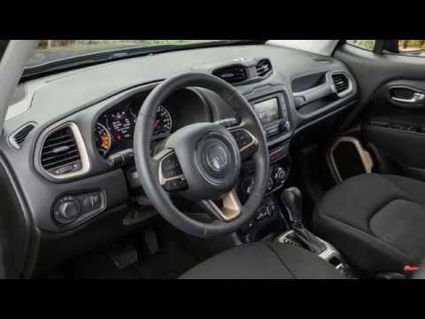 2017 Jeep Renegade Sport Interior Youtube