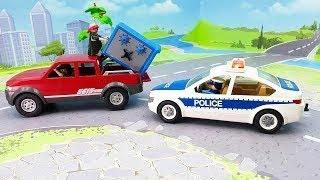 Полицейская машина Пикап в новом видео 2020 года - Героизм.  Автомобили новинки.