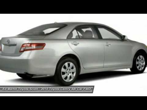 2010 TOYOTA CAMRY Anderson, IN 681146B. Ed Martin