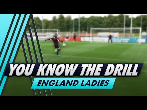 Teeing Up Volleys | You Know The Drill - England Ladies with Fran Kirby and Eni Aluko