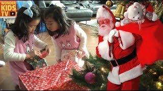 크리스마스에 산타할아버지가 왔을까요? 재이와 지수의 크리스마스 선물은? merry christmas