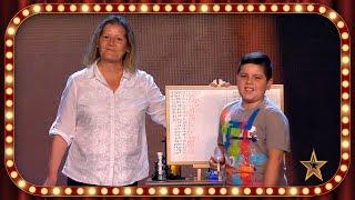 ¡Este NIÑO es una CALCULADORA HUMANA! ¡Impresionante! | Inéditos | Got Talent España 2019