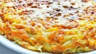 Why didn't I know this recipe before? Cabbage and eggs. cabbage pie