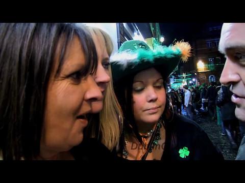 Irish Leprechaun. Mad night on St. Patrick's Day 2013. Dublin, Ireland.
