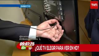 Cómo ver televisión en HD - Buenos Días a Todos TVN HD - Copa América 2015