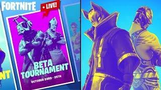 Fortnite Alpha Tournament | Live Stream