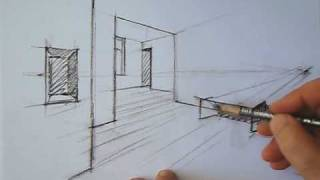 drawing perspective - how to draw perspective