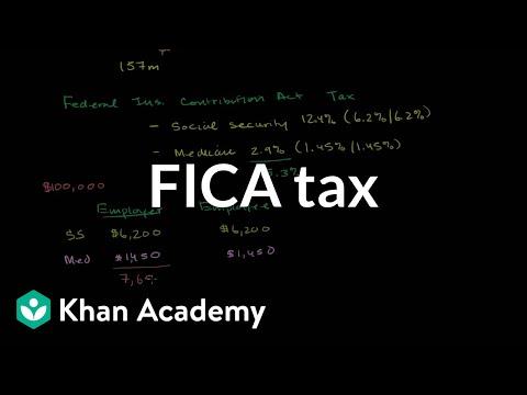 FICA tax | American civics | US History | Khan Academy