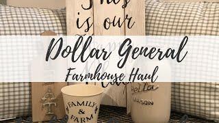 DOLLAR GENERAL FARMHOUSE HAUL | FARMHOUSE DECOR | FARMHOUSE DIY