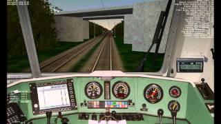 Let´s Play - Train Simulator 2001 - DB BR 120 #1