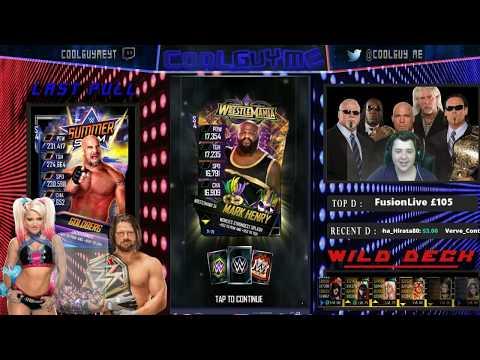SS18 PLATINUM PACK!! & RTG UPDATE!  |  WWE Supercard #106 (Season 4)