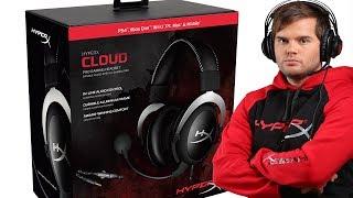 НОВЫЕ НАУШНИКИ -  HyperX Cloud Silver - обзор, микрофон, звук