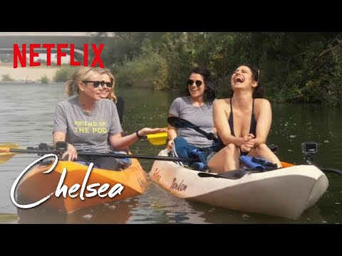 Broad City's Ilana Glazer and Abbi Jacobson take Chelsea Kayaking   Chelsea  Netflix