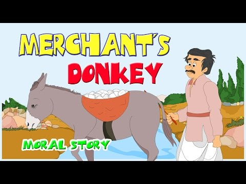 Merchant's Donkey - Story in English | Moral Bedtime Stories For Kids In English | English Stories