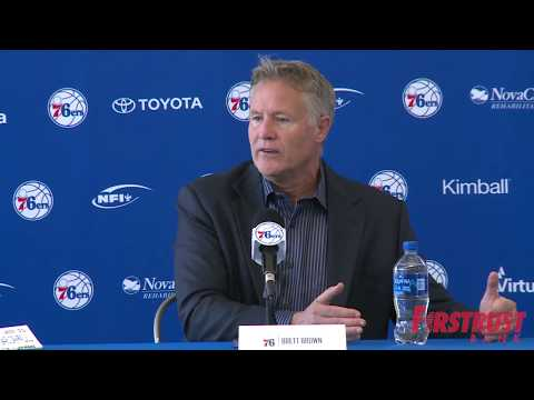 76ers Exit Interview 2018 | Brett Brown (5.11.18)