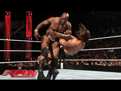 Titus O'Neil vs. Rusev: Raw, June 27, 2016