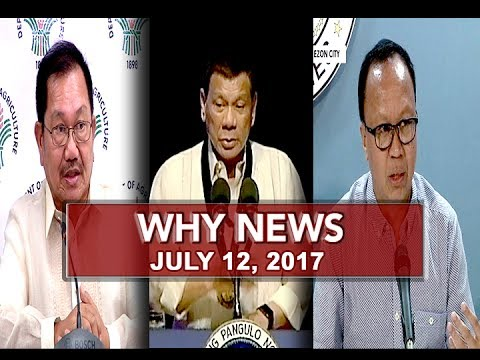 UNTV: Why News (July 12, 2017)