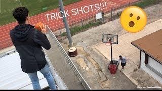 INSANE PUMPKIN TRICK SHOTS!!!