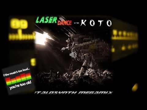 Laserdance vs Koto - Italosynth Megamix (2006)