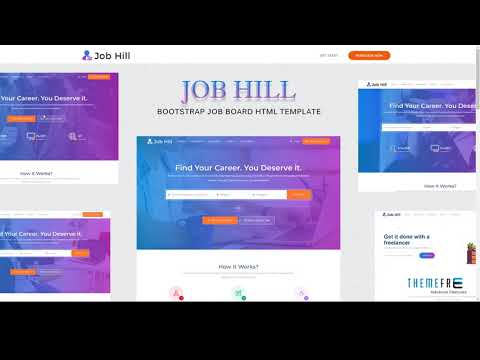 JobHill - Job Board HTML Template        Prince Gabe