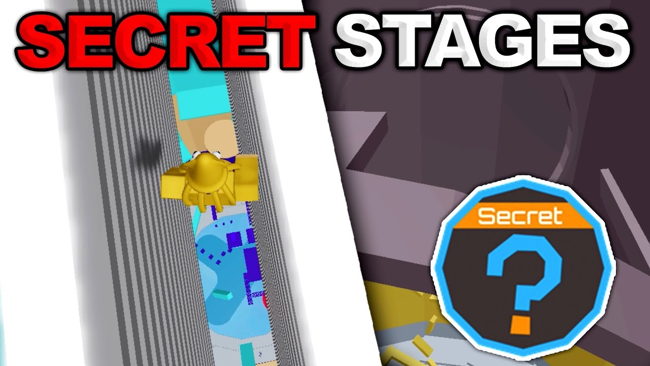 Secret Stages In Tower Of Hell Secret Badge Roblox Youtube