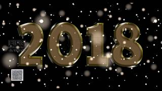 Happy New Year Glassy Wallpaper 2018 2019 2020 wishes