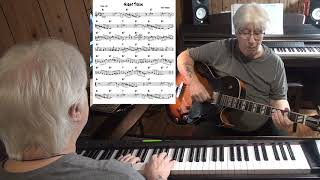 Night Train - Jazz guitar & piano cover ( Jimmy Forrest )